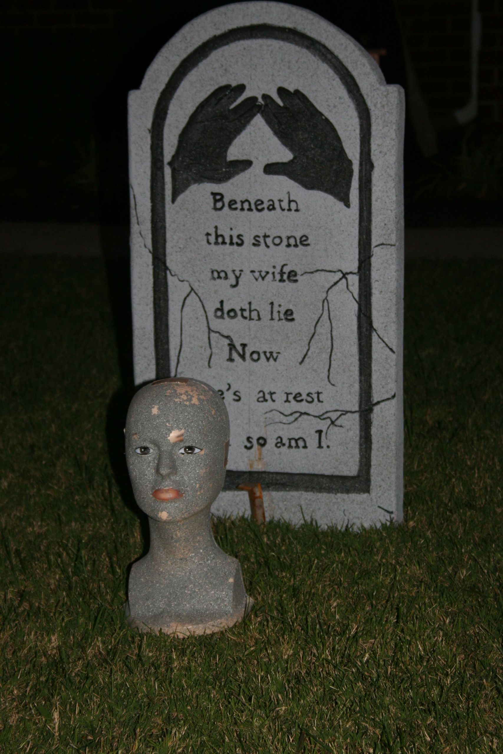 Halloween Grave Stone  Tombstone For Halloween Quotes QuotesGram