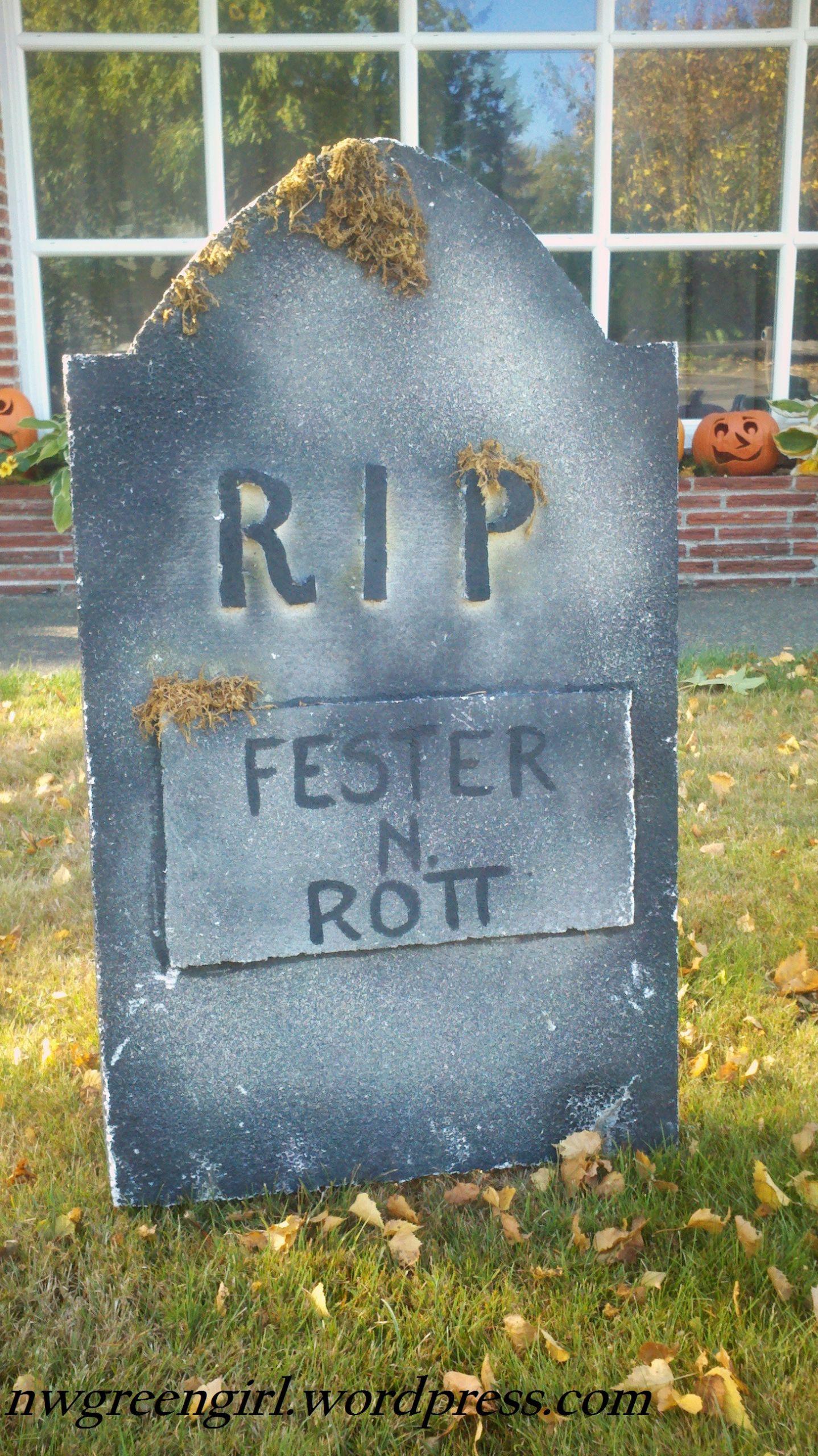 Halloween Grave Stone  Halloween Decor TOMBSTONES