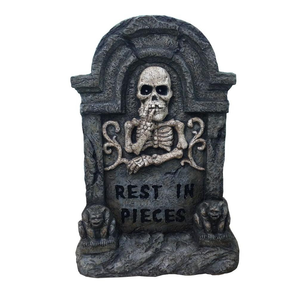 Halloween Grave Stone  Home Accents 22 in Halloween RIP Tombstone LH4002 The