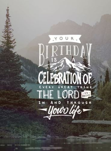 Happy Birthday Christian Quote  birthday wishes for Christians