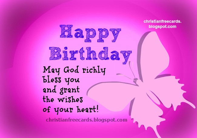 Happy Birthday Christian Quote  Free Christian Cards January 2014