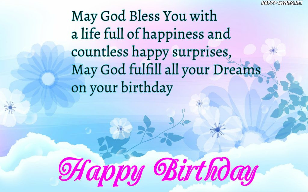 Happy Birthday Christian Quote  Christian Birthday Wishes Religious Quotes