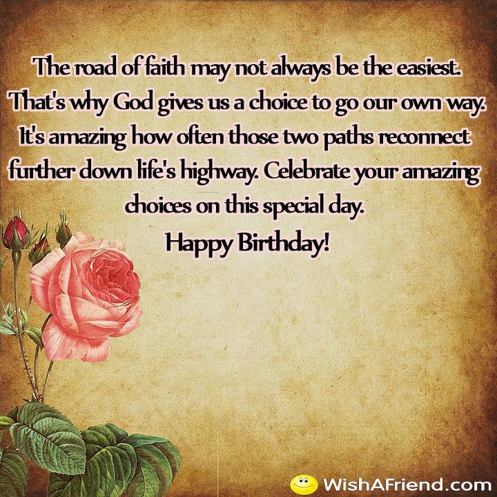 Happy Birthday Christian Quote  Religious Birthday Quotes