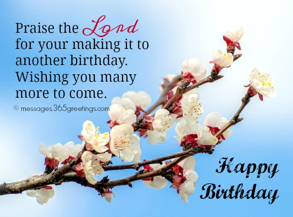 Happy Birthday Christian Quote  christian birthday messages 365greetings
