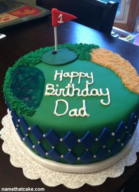Happy Birthday Dad Cake  Name That Cake Send a virtual birthday cake to a friend