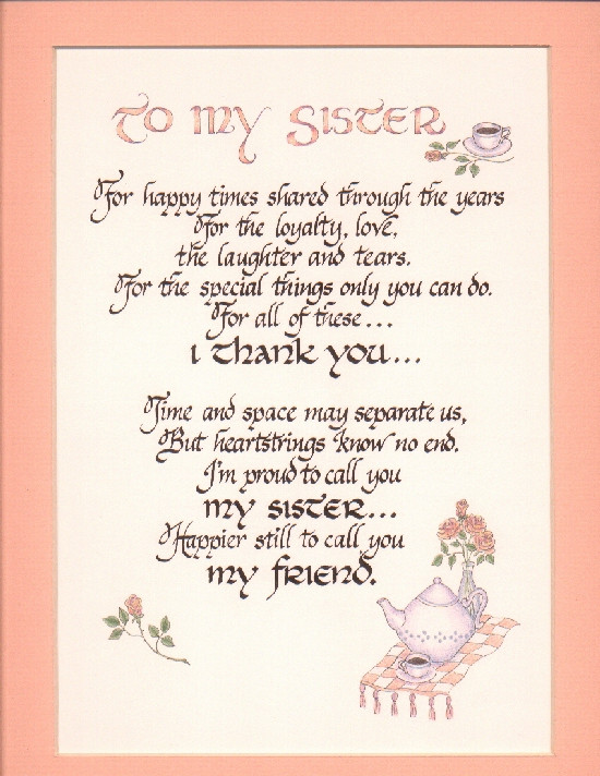 Happy Birthday Sister Poems Funny  Quotes s Funny Birthday Quotes For Younger Sister