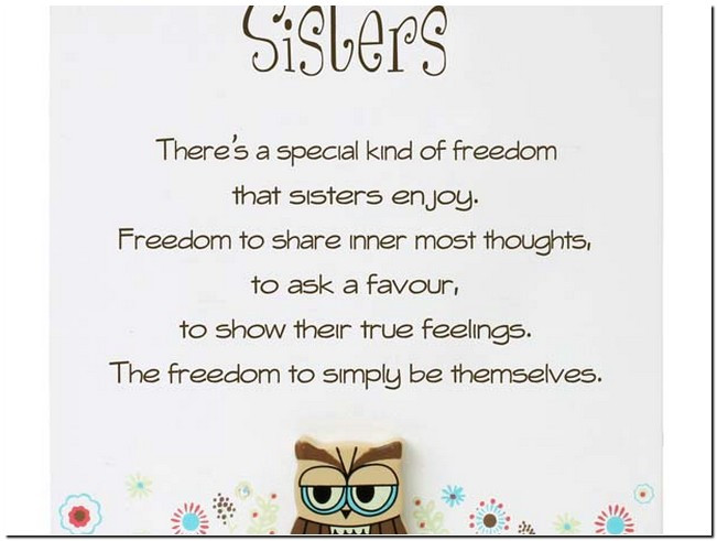 Happy Birthday Sister Poems Funny  Funny sister Poems