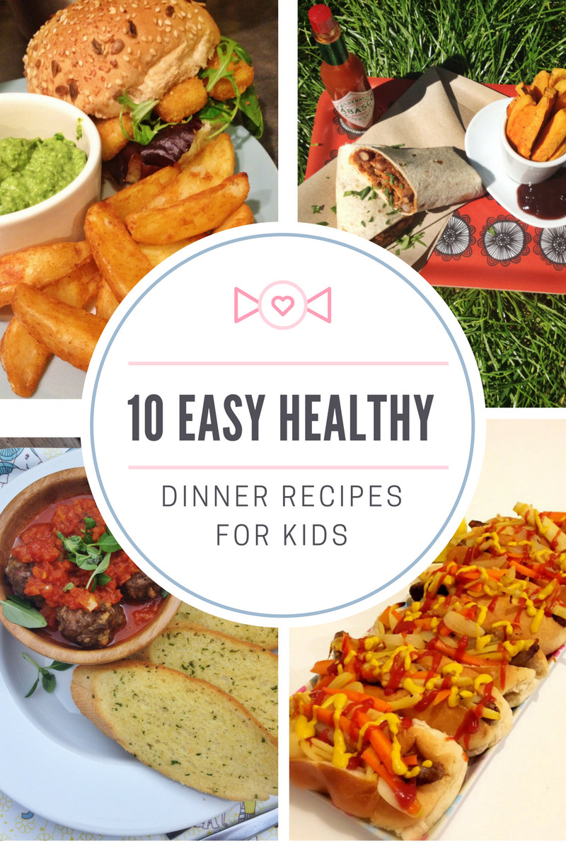 Healthy Recipes For Children  10 easy healthy dinner recipes for kids Daisies & Pie