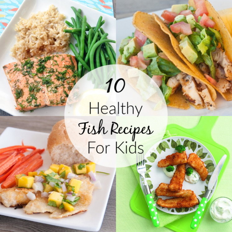 Healthy Recipes For Children  10 Healthy Fish Recipes for Kids Super Healthy Kids
