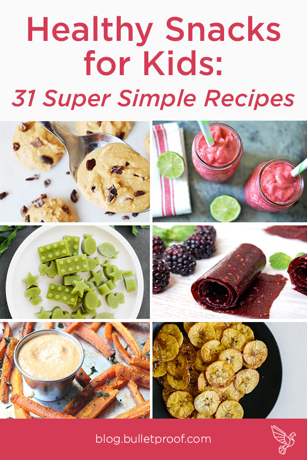 Healthy Recipes For Children  Healthy Snacks for Kids 31 Super Simple Recipes