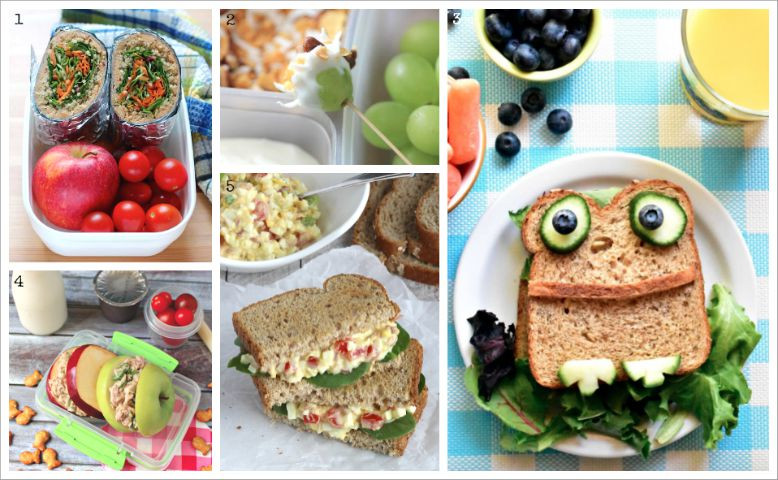 Healthy Recipes For Children  Easy Healthy Kids Lunch Ideas A Whole Month of Fun