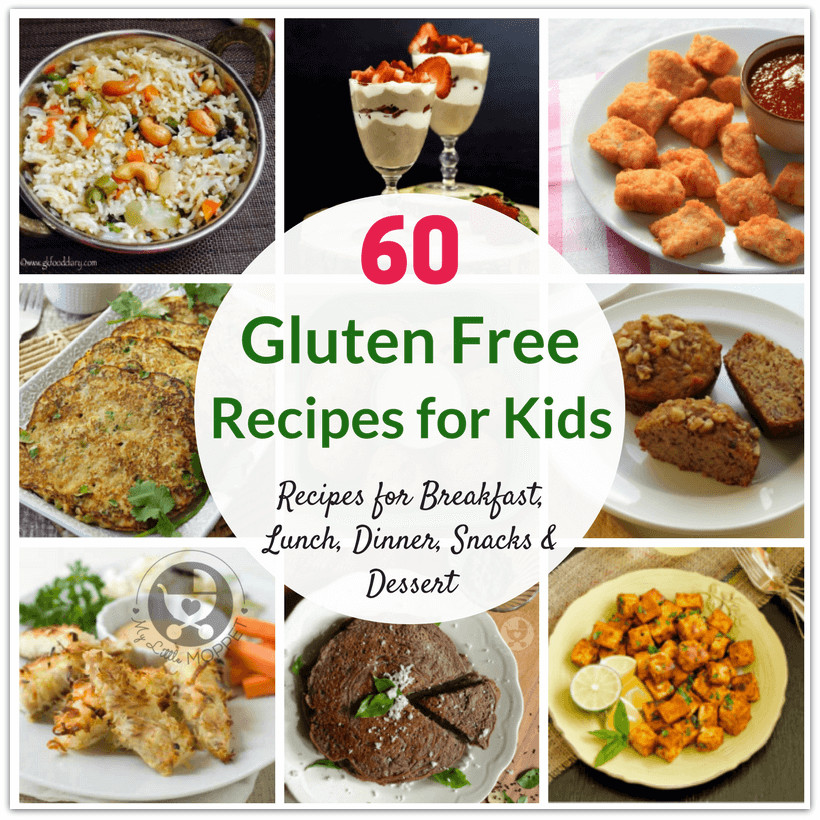 Healthy Recipes For Children  60 Healthy Gluten Free Recipes for Kids