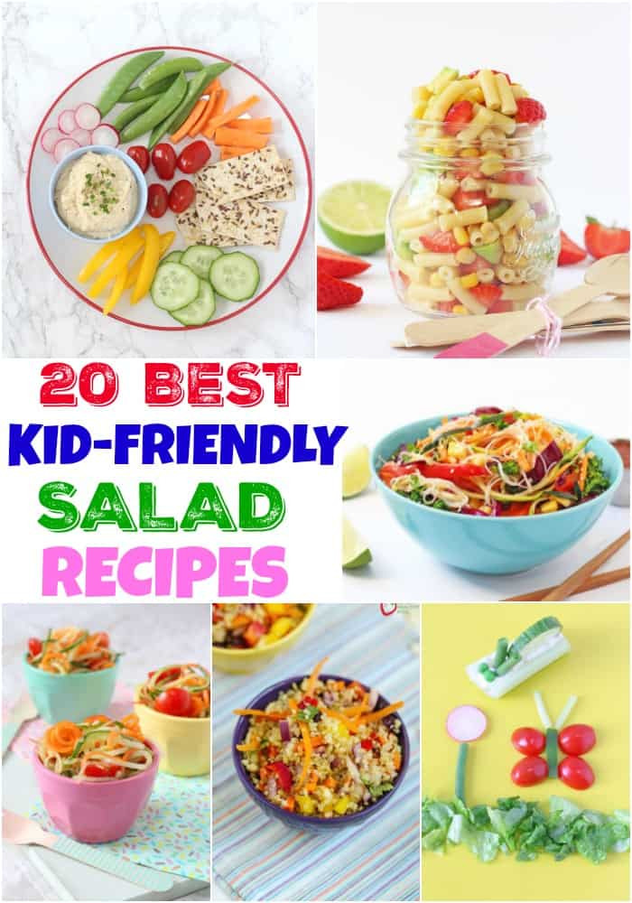 Healthy Recipes For Children  Top 20 Kid Friendly Salad Recipes My Fussy Eater