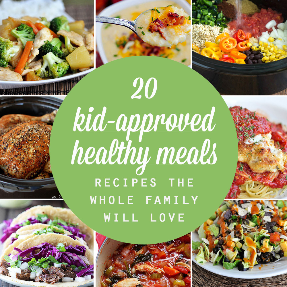Healthy Recipes For Children  20 healthy easy recipes your kids will actually want to