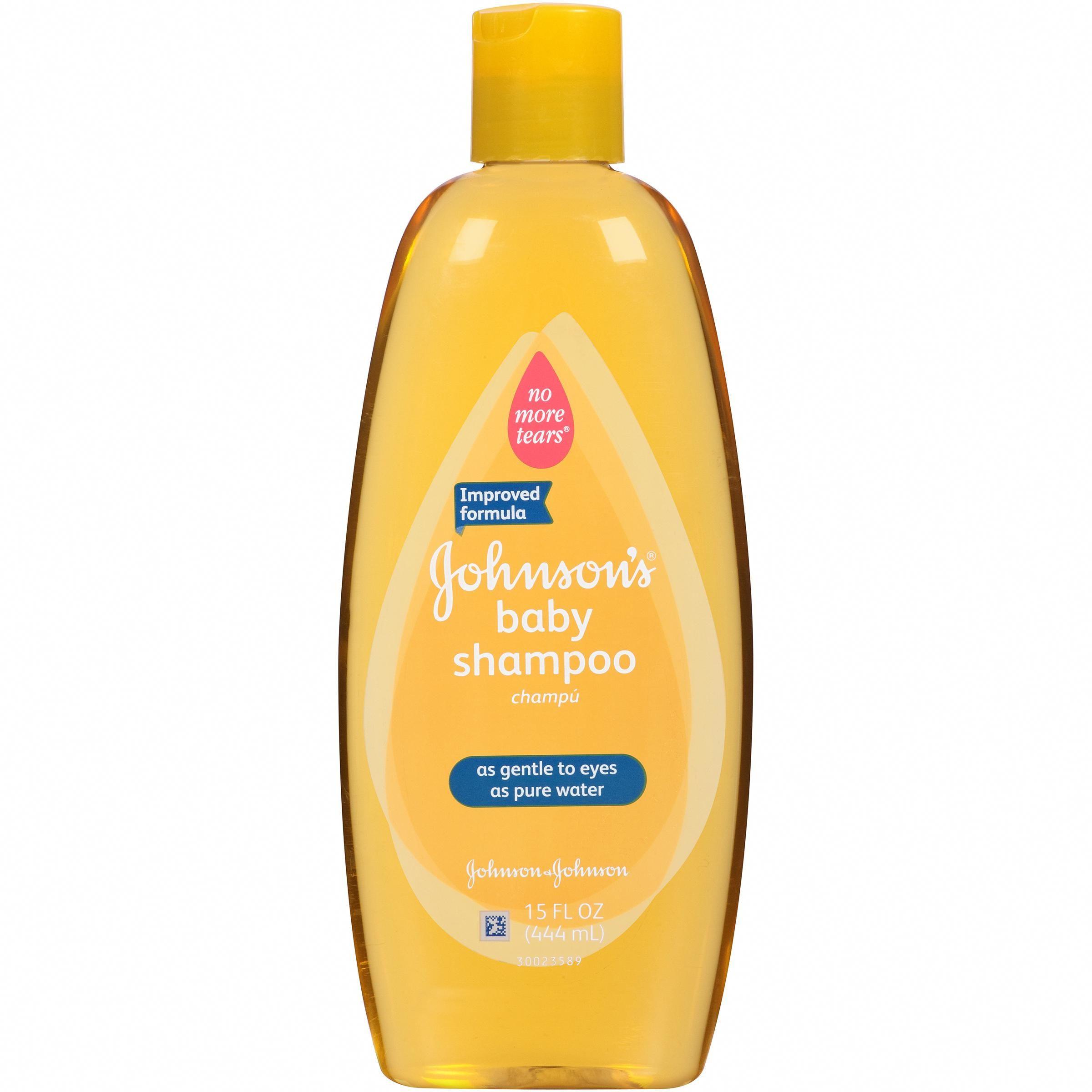 Help Baby Hair Grow  Johnson & Johnson Shampoo Baby Shampoo 15 FL OZ Squeeze