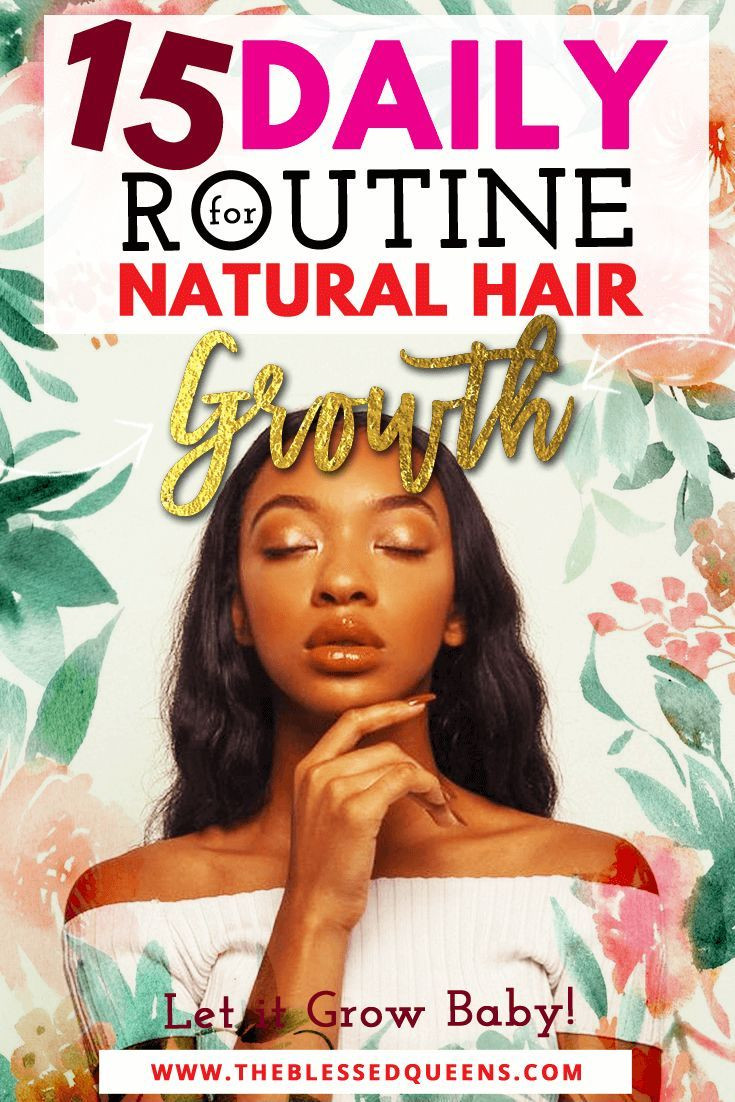 Help Baby Hair Grow  15 Daily Routine For Natural Hair Growth Let it Grow Baby