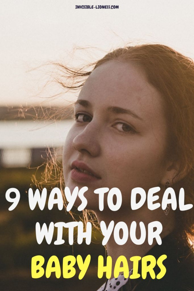 Help Baby Hair Grow  Baby hairs and flyaways 9 ways to deal with them