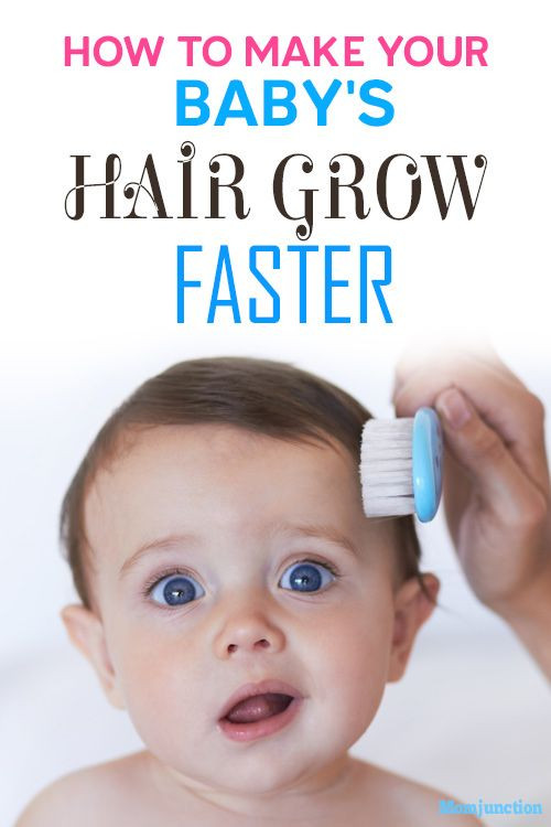 Help Baby Hair Grow  5 Hacks To Make Your Baby's Hair Grow Faster