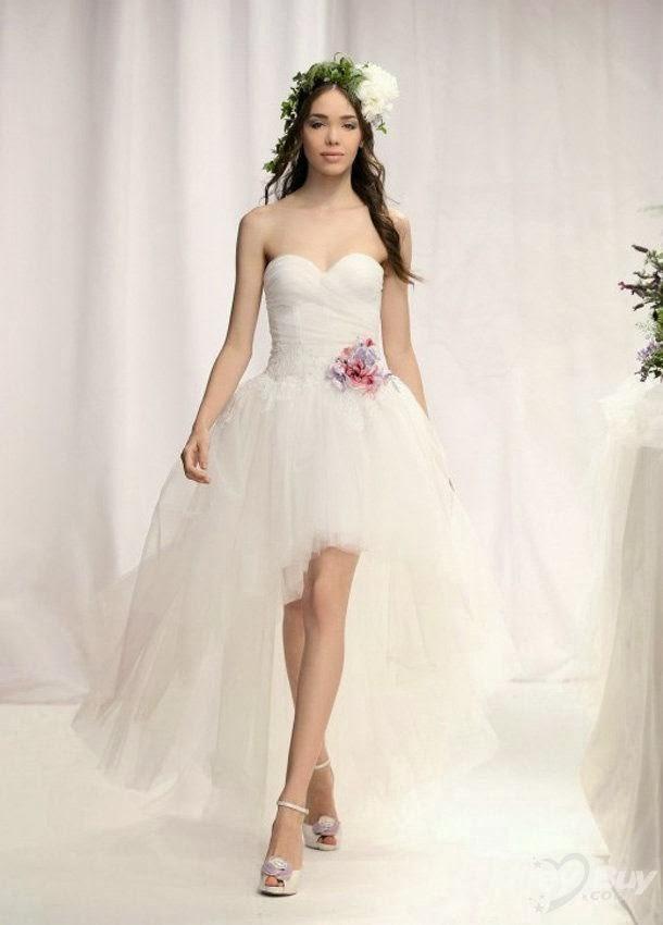 Hi-lo Wedding Dresses  My Wedding Dress Unique Hi lo Wedding Gowns
