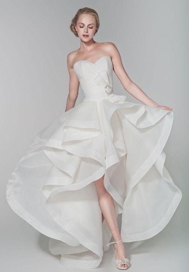Hi-lo Wedding Dresses  Top 25 High Low Wedding Dresses