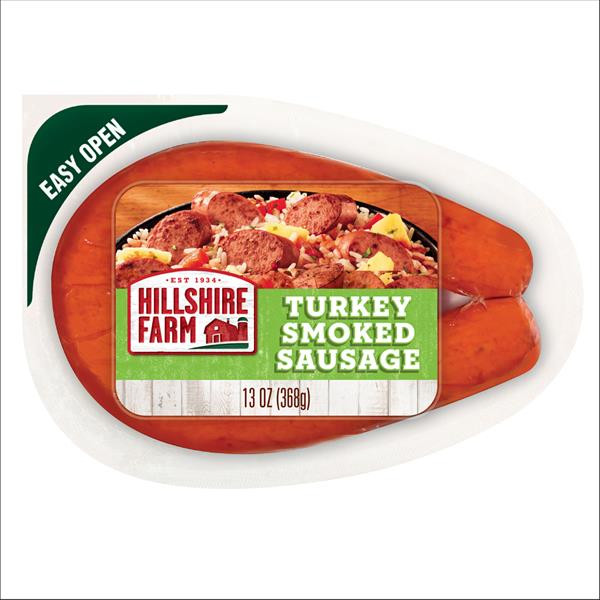Hillshire Farms Turkey Sausage  Hillshire Farm Turkey Smoked Sausage