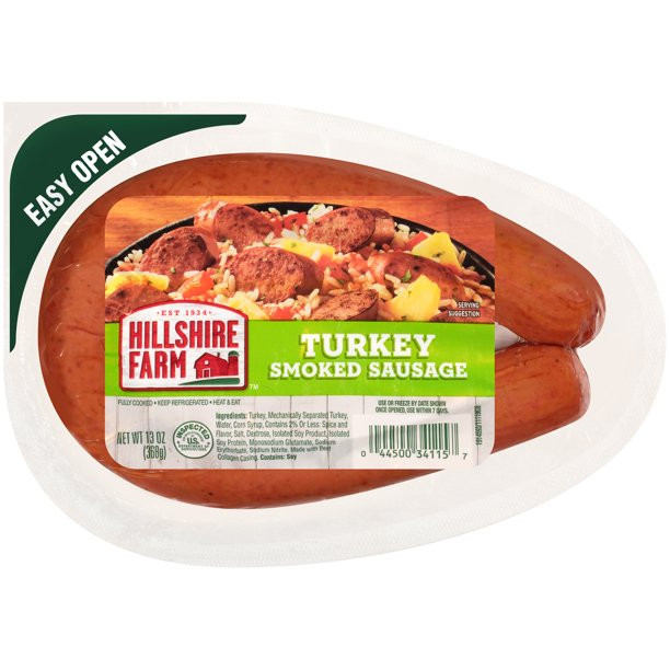 Hillshire Farms Turkey Sausage  Hillshire Farm Turkey Smoked Sausage Rope 13 oz