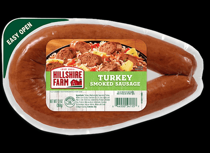 Hillshire Farms Turkey Sausage  Turkey Smoked Sausage