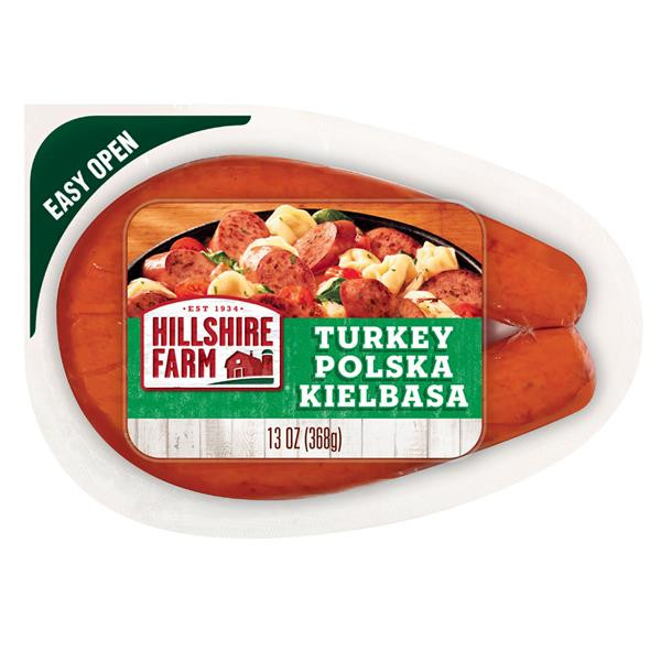Hillshire Farms Turkey Sausage  Hillshire Farm Turkey Polska Kielbasa Sausage
