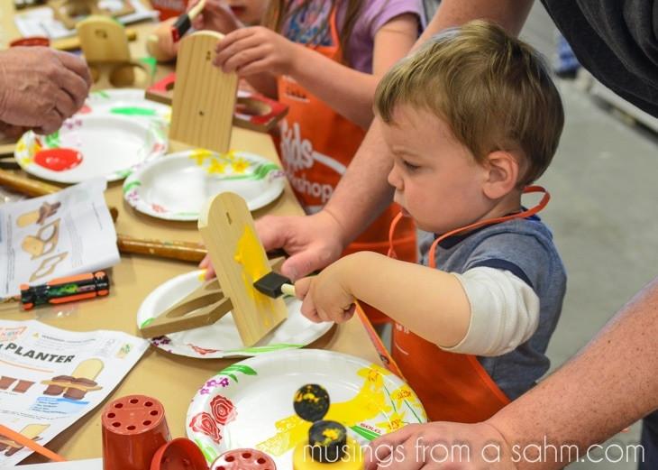 Home Depot DIY Kids  DIY for Kids at The Home Depot Kids Workshop DigIn