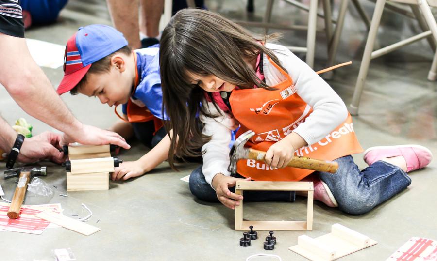 Home Depot DIY Kids  The Home Depot DIY Workshop