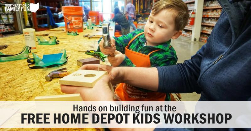 Home Depot DIY Kids  FREE Home Depot Kids Workshop Fun Hands on Projects for Kids