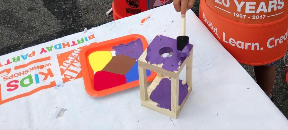 Home Depot DIY Kids  Free Kids DIY Workshop at Home Depot