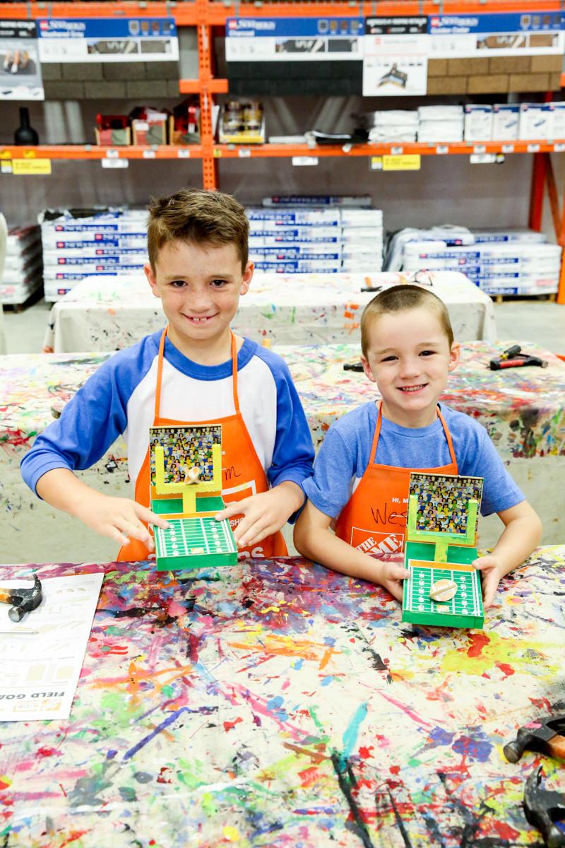 Home Depot DIY Kids  The Home Depot Kids Workshop Bower Power