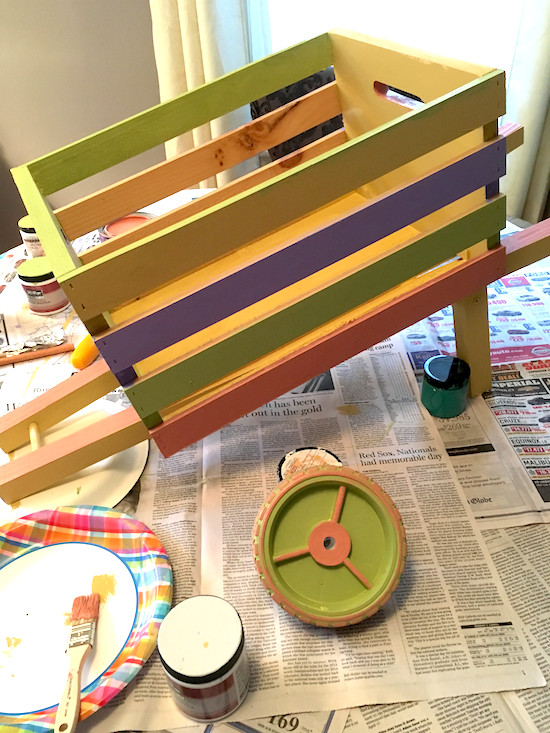 Home Depot DIY Kids  Easy DIY Kids Easter Wheelbarrow