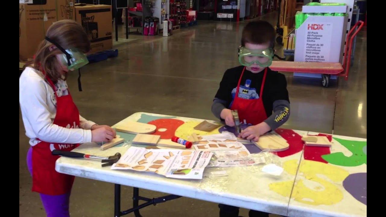 Home Depot DIY Kids  Home Depot Kids Workshop