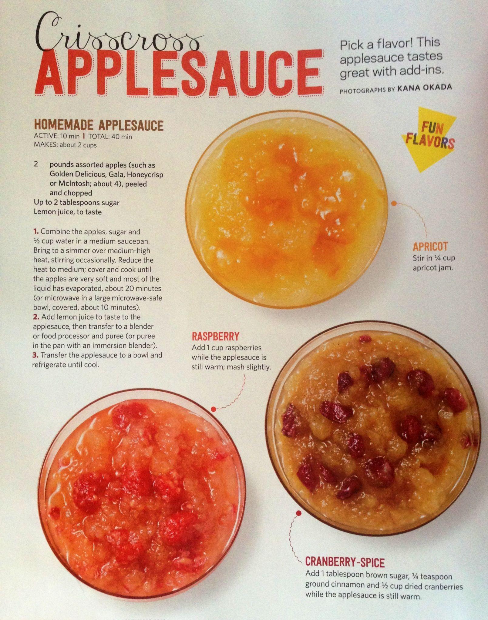Homemade Applesauce For Baby  HomeMade Applesauce For babies For everybody