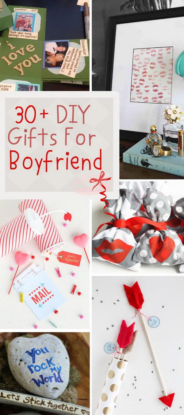 Homemade Boyfriend Gift Ideas  30 DIY Gifts For Boyfriend 2017