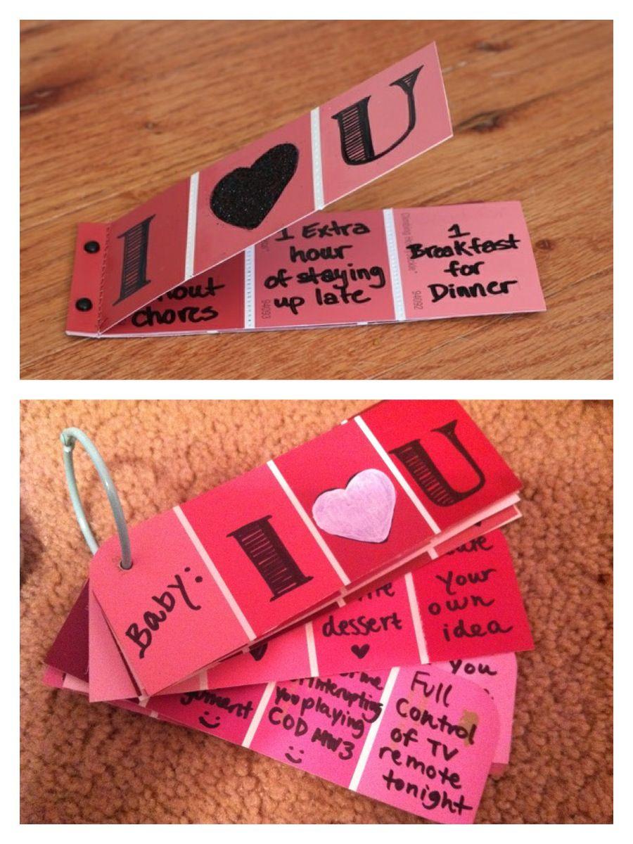 Homemade Boyfriend Gift Ideas  Handmade Valentine s Day Inspiration