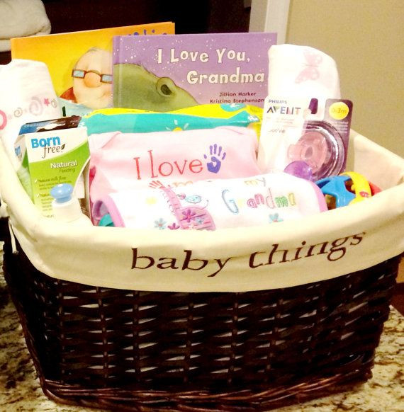 Homemade Gifts For Grandma From Baby  Is there a soon to be grandma in your life Get her the