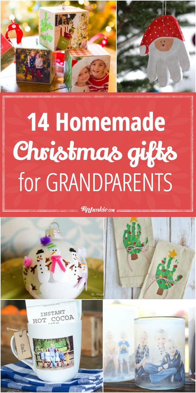 Homemade Gifts For Grandma From Baby  14 Homemade Christmas Gifts for Grandparents