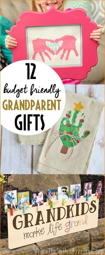 Homemade Gifts For Grandma From Baby  Bud Friendly Grandparent Gifts Paige s Party Ideas