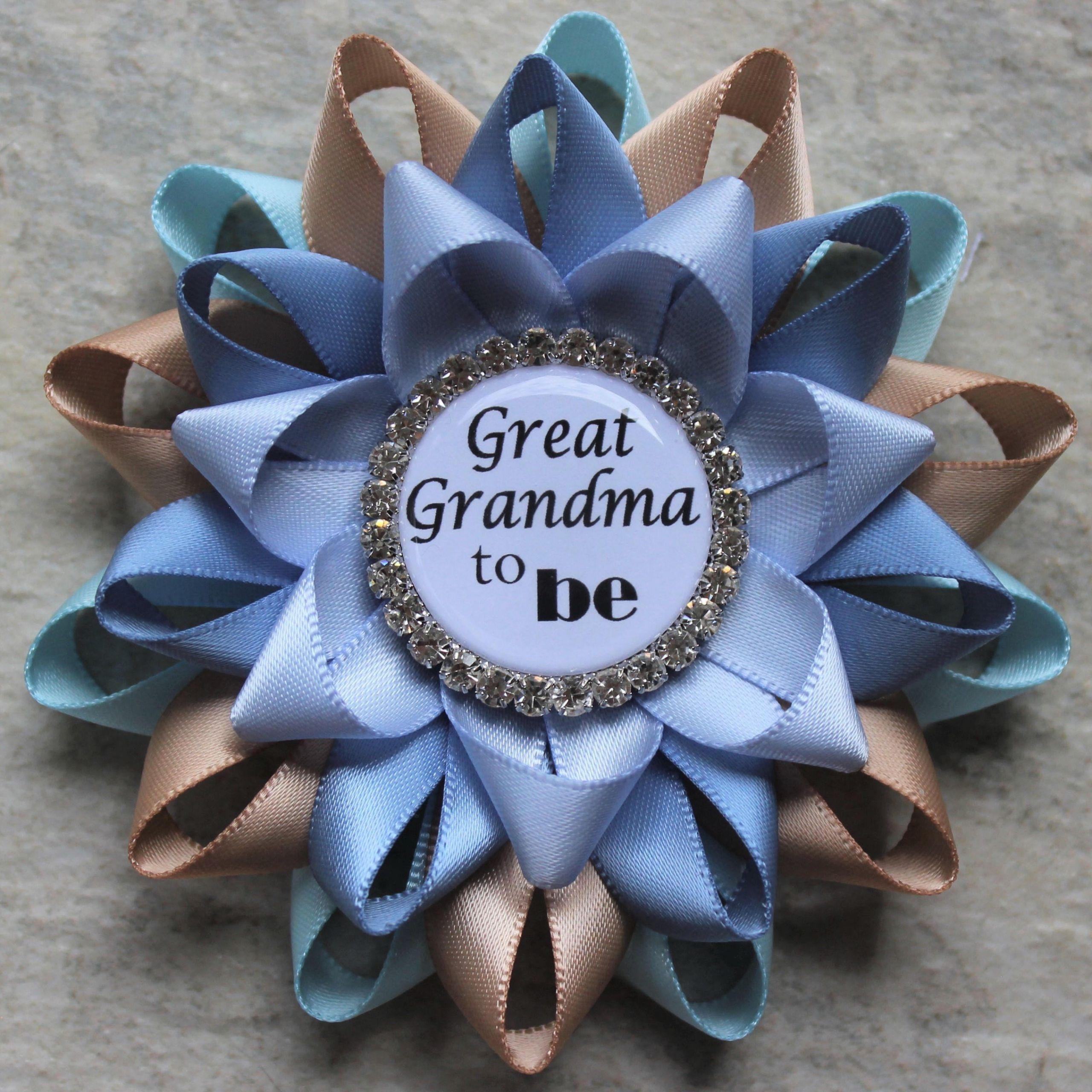Homemade Gifts For Grandma From Baby  Great Grandma Pin Grandma Gift Baby Shower Gift New