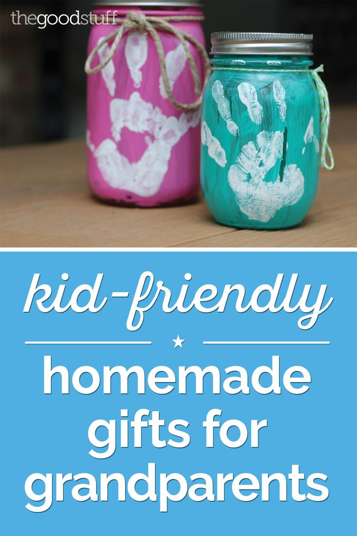 Homemade Gifts For Grandma From Baby  Kid Friendly Homemade Gifts for Grandparents