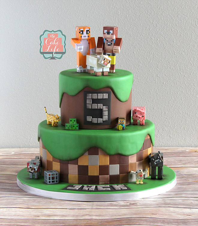 How To Make A Minecraft Birthday Cake  25 of the best Minecraft cakes to make at home