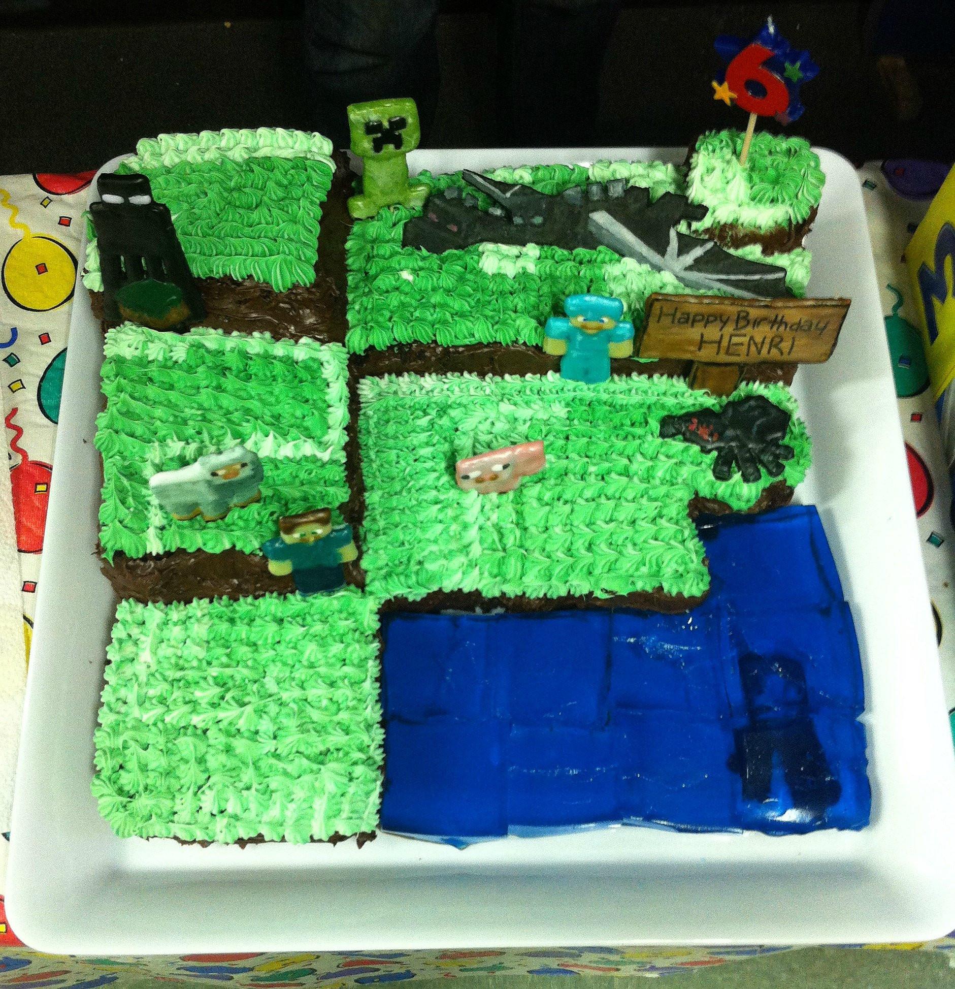 How To Make A Minecraft Birthday Cake  20 Best Ideas Minecraft Birthday Cake Home Inspiration