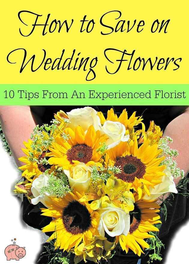How To Save On Wedding Flowers  How to Save Money on Wedding Flowers 10 tips from an