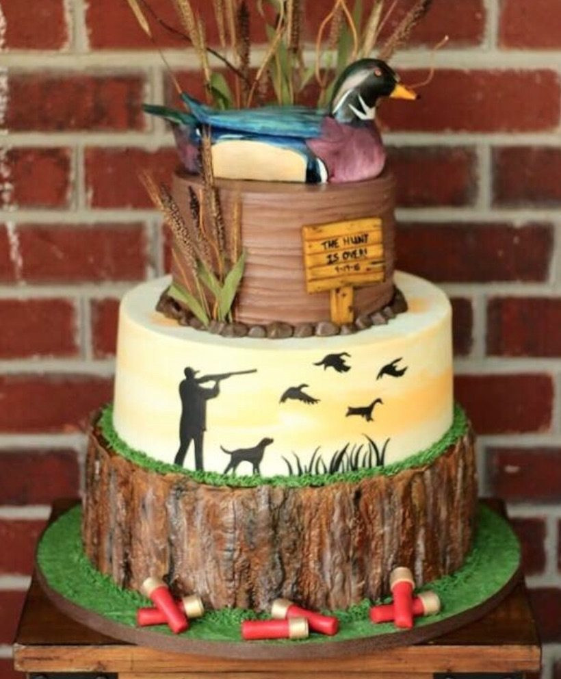 Hunting Birthday Cakes  Top 10 Fishing and Hunting Birthday Cakes