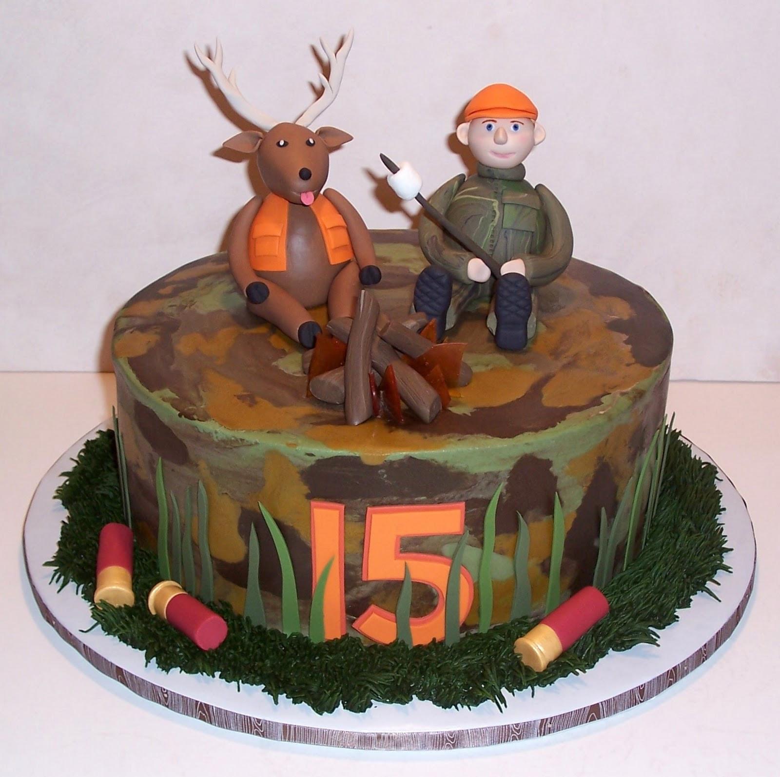 Hunting Birthday Cakes  Free Cake Info December 2010
