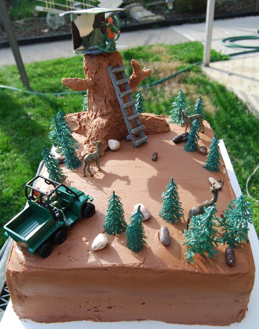 Hunting Birthday Cakes  Hunting Birthday Cake CakeCentral