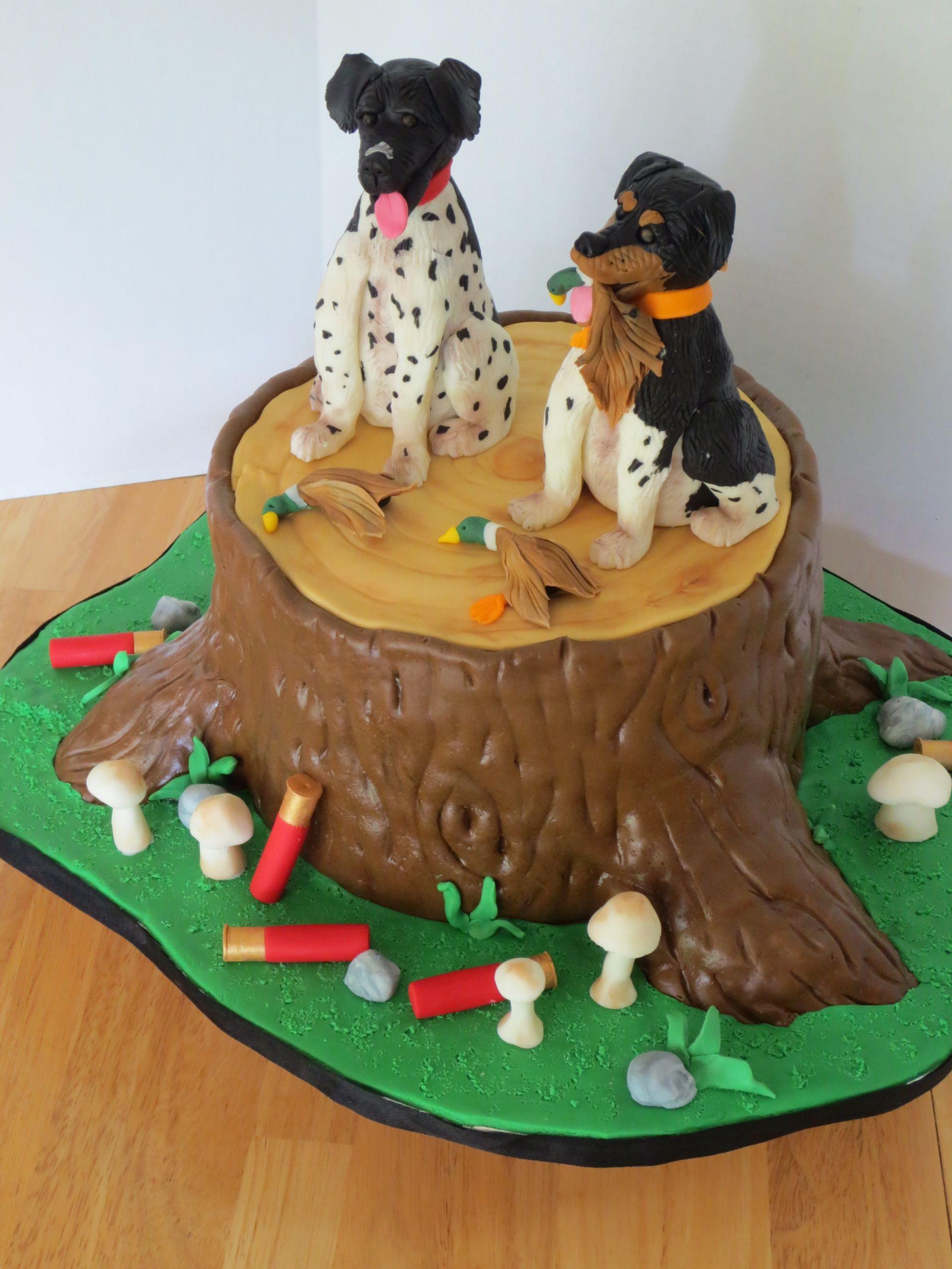 Hunting Birthday Cakes  hunting cake